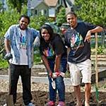 Gardening in Minneapolis