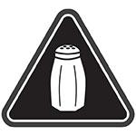 New York City salt warning icon