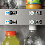 Water and Sport Drinks in Vending Machine