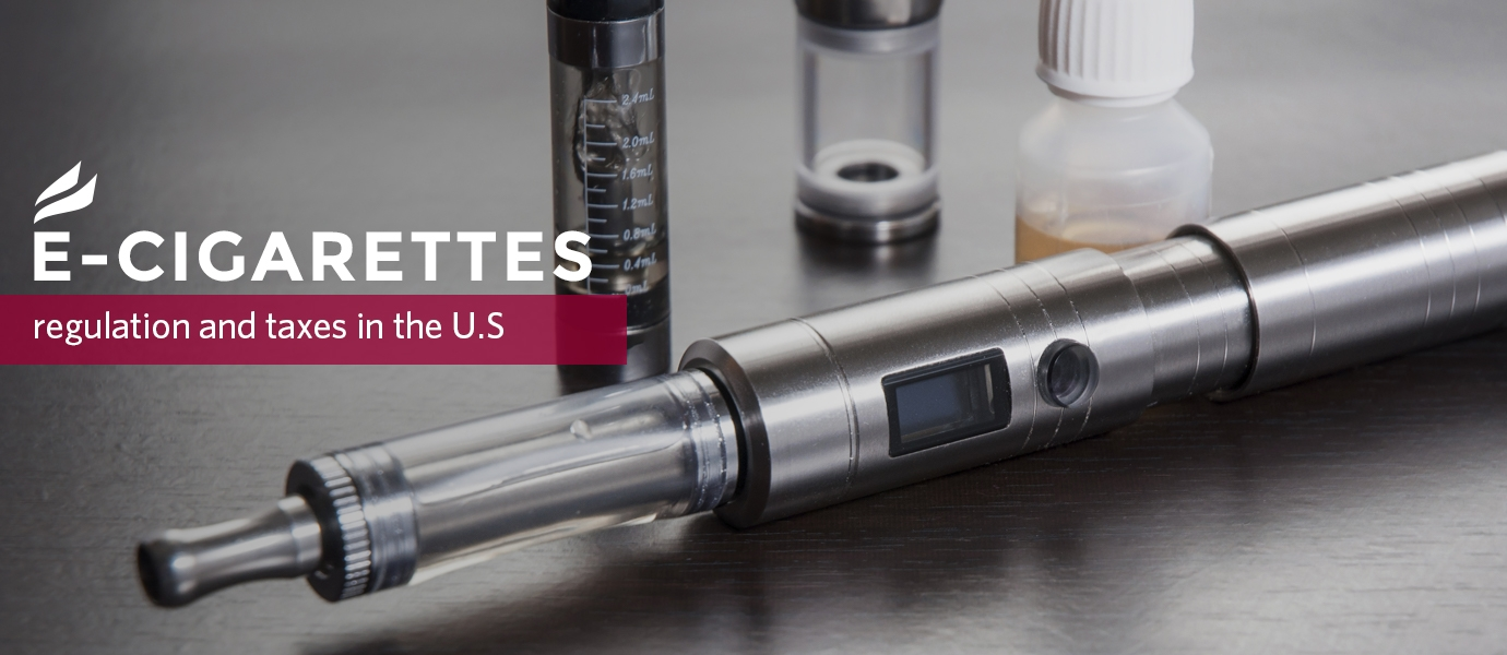 E-cigarettes, regulation and taxes in the US